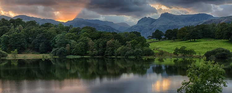 Loughrigg Sunset - Lake District