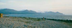 Dinas Dinlle Beach, Snowdonia