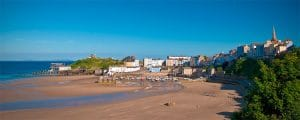 Kiln Park (cropped) by JKMMX https://commons.wikimedia.org/wiki/File:Tenby_harbour_in_Pembrokeshire,_United_Kingdom.jpg