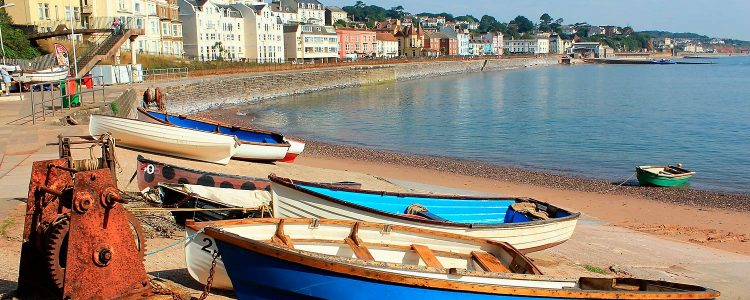 Dawlish in Devon